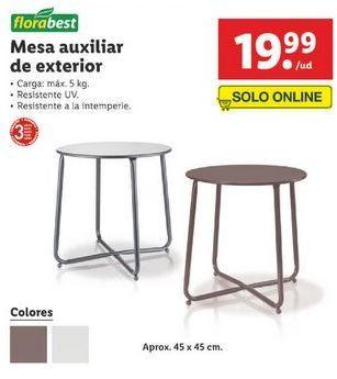 Oferta de Mesa auxiliar Florabest por 19,99€