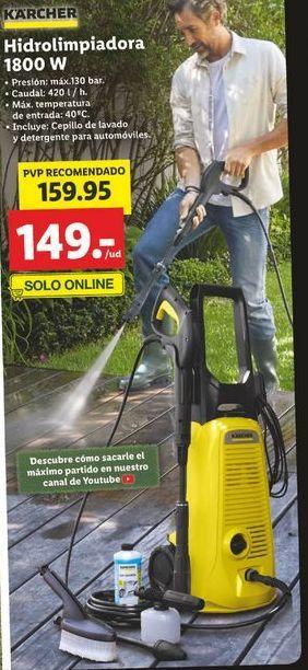 Oferta de Hidrolimpiadora Kärcher por 159,95€