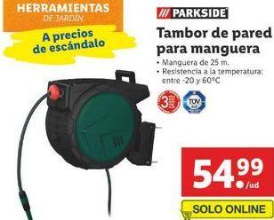 Oferta de Enrollador de manguera Parkside por 54,99€