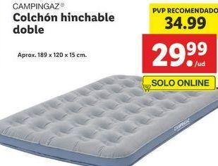 Oferta de Colchón hinchable campingaz por 34,99€