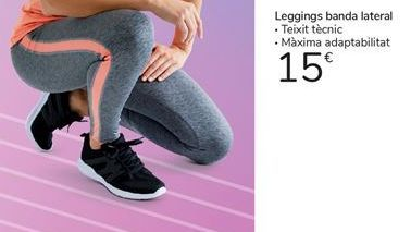 Oferta de Leggings banda lateral por 15€
