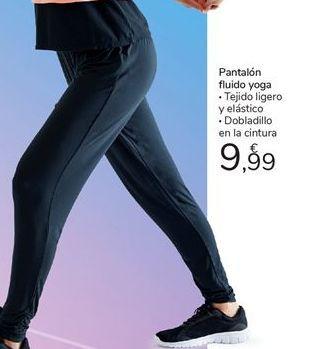 Oferta de Pantalón fluido yoga por 9,99€