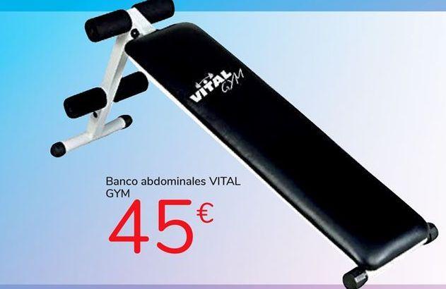 Oferta de Banco de abdominales VITAL GYM por 45€