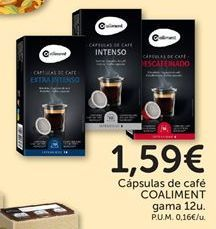 Oferta de Cápsulas de café coaliment por 1,59€