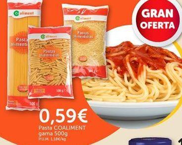 Oferta de Pasta coaliment por 0,59€