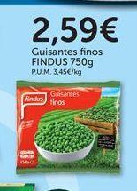 Oferta de Guisantes finos congelados Findus por 2,59€