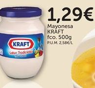 Oferta de Mayonesa Kraft por 1,29€