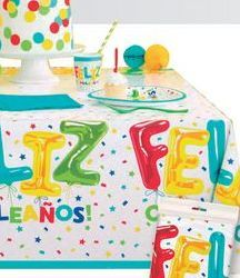 Oferta de Mantel Feliz Cumpleaños por 3,5€