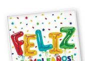 Oferta de Servilletas Feliz Cumpleaños por 1,9€