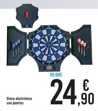 Oferta de Diana electrónica con puertas  por 24,9€