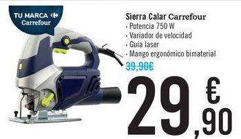 Oferta de Sierra Calar Carrefour  por 29,9€