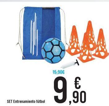 Oferta de SET Entrenamiento fútbol  por 9,9€