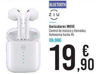 Oferta de Auriculares MOVE ZIU por 19,9€