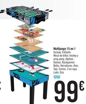 Oferta de Multijuego 15 en 1  por 99€