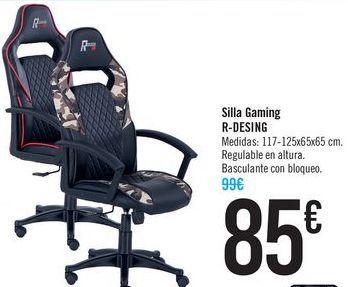 Oferta de Silla Gaming R-DESIGN por 85€
