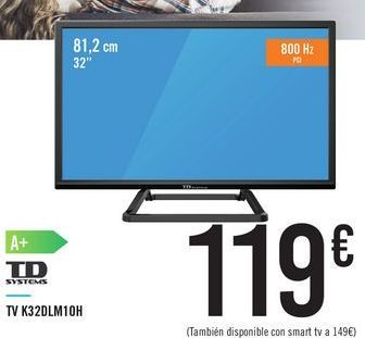 Oferta de TD SYSTEMS K32DLM10H por 119€