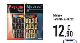 Oferta de Tablero Parchís-ajedrez  por 12,9€
