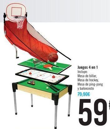 Oferta de Juegos 4 en 1  por 59€