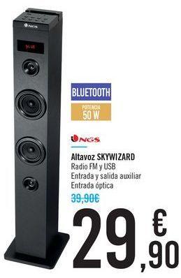 Oferta de Altavoz SKYWIZARD NGS por 29,9€