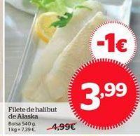 Oferta de Filete de halibut de Alaska por 3,99€