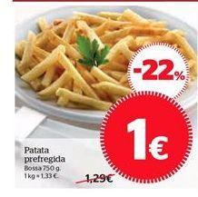 Oferta de Patatas fritas congeladas por 1€