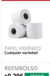 Oferta de Papel higiénico por