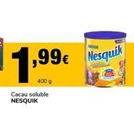Oferta de Cacao soluble Nesquik por 1,99€