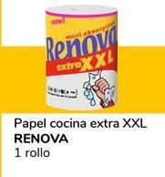 Oferta de Papel de cocina Renova por 0,9€