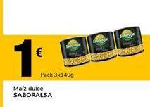 Oferta de Maíz dulce saboralsa por 1€