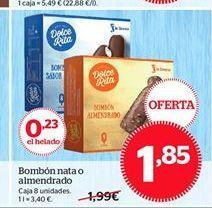 Oferta de Bombón nata o almendrado por 1,85€
