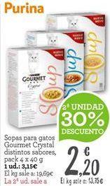 Oferta de Sopas, caldos y purés por 3,15€