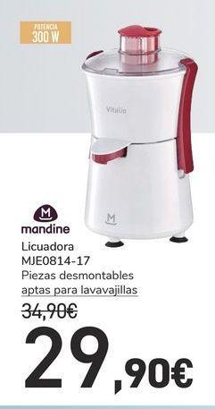 Oferta de Licuadora  MJE0814-17 Mandine por 29,9€