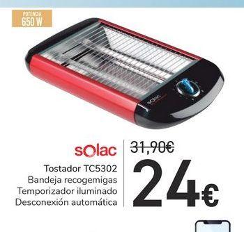 Oferta de Tostador TC5302 Solac por 24€