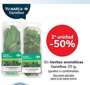 Oferta de Hierbas Aromáticas Carrefour por