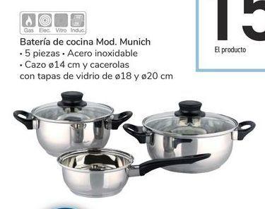 Oferta de Batería de cocina Mod. Munich por 15€