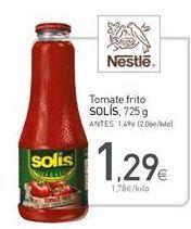 Oferta de Tomate frito Solís por 1,29€