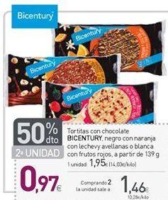 Oferta de Tortitas Bicentury por 1,95€