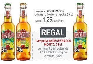 Oferta de Cerveza Desperados por 1,29€