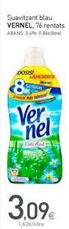 Oferta de Suavizante Vernel por 3,09€