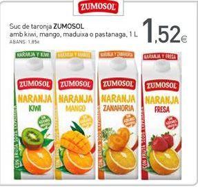 Oferta de Zumo de naranja Zumosol por 1,52€