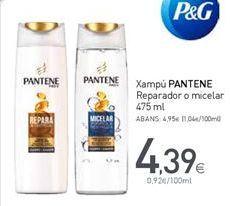 Oferta de Champú Pantene por 4,39€