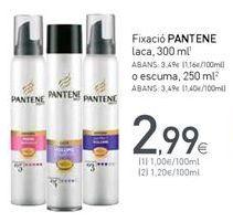 Oferta de Fijador de pelo Pantene por 2,99€