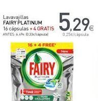 Oferta de Detergente lavavajillas Fairy por 5,29€