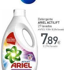 Oferta de Detergente Ariel Actilift por 7,89€