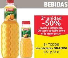 Oferta de En TODOS los néctares GRANINI, iguales o combinados por