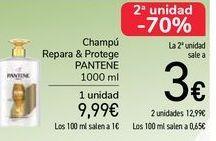 Oferta de Champú Repara & Protege Pantene por 9,99€