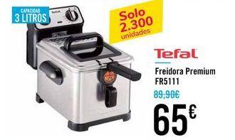 Oferta de Freidora premium FR5111 Tefal por 65€
