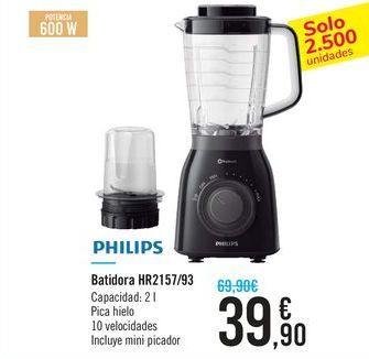 Oferta de Batidora HR2157/93 PHILIPS por 39,9€