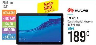 Oferta de Tablet T5 HUAWEI  por 189€