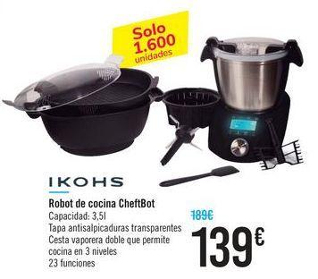 Oferta de Robot de cocina Cheftbot IKOHS por 139€